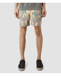 AllSaints - Multicolor Monsoon Swimshort for Men - Lyst
