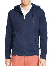 Polo Ralph Lauren | Blue French-rib Full-zip Hoodie for Men | Lyst