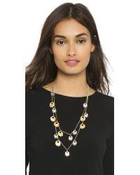 Madewell - Metallic Landon Layering Necklace - Vintage Gold - Lyst