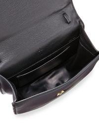 M2malletier - Gray Amor Fati Leather Satchel Bag - Lyst