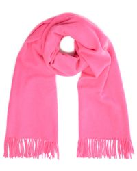 2nd Day - Bright Pink Wool Knit Harmony Scarf - Lyst
