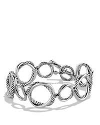 David Yurman | Metallic Infinity Link Bracelet | Lyst