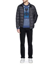 KENZO - Blue Tiger Embroidery Mesh Pattern Sweater for Men - Lyst