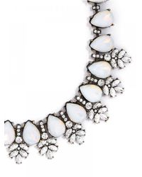 BaubleBar | White Opal Wreath Collar | Lyst