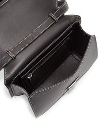 Givenchy - Black New Line Leather Shoulder Bag  - Lyst