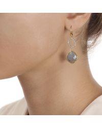 Monica Vinader - Metallic Riva Diamond Cocktail Earrings - Lyst