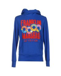 Franklin & Marshall - Blue Sweatshirt for Men - Lyst