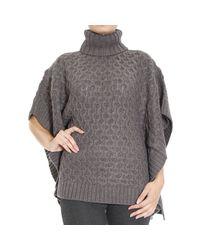 MICHAEL Michael Kors   Gray Sweater   Lyst