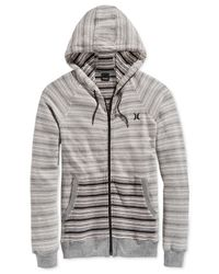 Hurley | White Highway Full-zip Fleece Hoodie for Men | Lyst