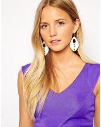 Gogo Philip - Metallic Drop Earrings - Lyst
