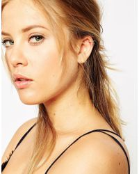 ASOS | Multicolor Limited Edition Spike Anywhere Ear Cuff Pack | Lyst