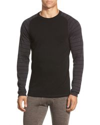Smartwool | Black 'nts Mid 250' Long Sleeve Crewneck T-shirt for Men | Lyst