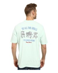 Tommy Bahama | Blue To All The Grills Tee for Men | Lyst