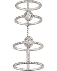 Messika | Glamazone 18ct White-gold And Diamond Ring | Lyst
