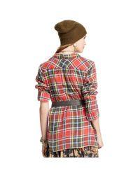 Denim & Supply Ralph Lauren | Red Plaid Rl Big Shirt | Lyst