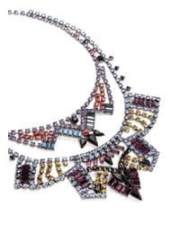 Joomi Lim - Multicolor 'rebel Romance' Crystal Double Strand Necklace - Lyst