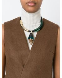 Marni | Black 'runway' Necklace | Lyst