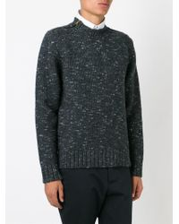 Marni - Gray Dotted Sweater for Men - Lyst