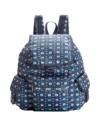 LeSportsac - Blue Voyager Backpack - Lyst