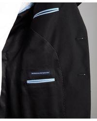 Tommy Hilfiger - Black Wool 'Adams' Two-Button Trim Fit Suit Jacket for Men - Lyst