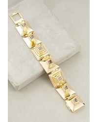 Sarah Magid | Metallic Cubiques Bracelet | Lyst
