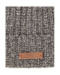 Polo Ralph Lauren | Gray Classic Beanie for Men | Lyst