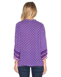 Spell & The Gypsy Collective - Blue Sunset Road Blouse - Lyst