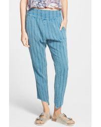 Billabong - Blue 'midnight Dreamin' Beach Pants - Lyst