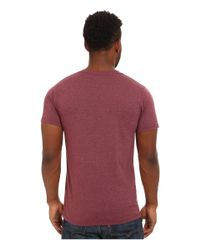 Patagonia | Purple Save The Waves Text Cotton/poly T-shirt for Men | Lyst