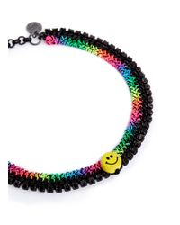 Venessa Arizaga - Multicolor 'rainbow Smile' Necklace - Lyst