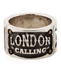 Stephen Webster - Metallic 'london Calling' Ring for Men - Lyst
