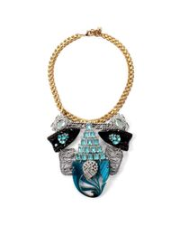 Lulu Frost - Blue 100 Year Necklace #2 - Lyst