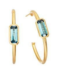 Astley Clarke | Prismic London Blue Topaz Earrings | Lyst
