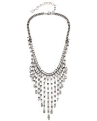 DANNIJO - Metallic Hallsy Necklace - Lyst