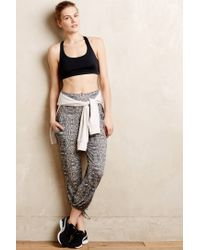 Onzie | Black Cropped Studio Sarouels | Lyst