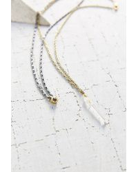 Urban Outfitters - Metallic Maya Double Layer Necklace - Lyst