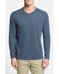 Tommy Bahama | Blue 'sedona Sands' V-neck Sweater for Men | Lyst