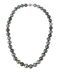 Belpearl | Multicolor Tahitian Pearl Necklace | Lyst