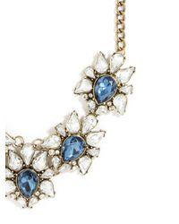 BaubleBar | Blue Sapphire Petal Collar | Lyst