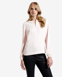 Ted Baker | Pink Zip Front Top | Lyst