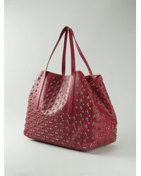 Jimmy Choo - Red 'Pimlico' Tote for Men - Lyst