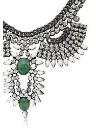DANNIJO | Green Izzie Necklace | Lyst