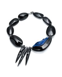 Alexis Bittar | Black Short Spike Liquid Pebble Necklace You Might Also Like | Lyst