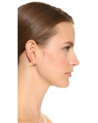 Vita Fede - Pink Titan Double Hexagon Earrings - Lyst