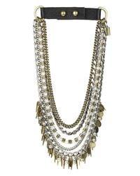 Jenny Bird | Metallic Talitha Collar | Lyst