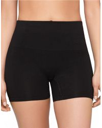 Yummie By Heather Thomson | Black Seamless Shaped Shorties | Lyst