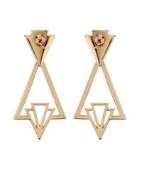 Lulu Frost | Metallic Portico Earrings | Lyst