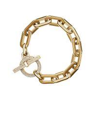 Michael Kors | Metallic Cityscape Toggle Bracelet | Lyst