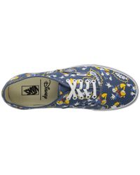 Vans - Blue Disney® Authentic™ - Lyst