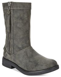 Rocket Dog - Black Tipton Quilted Mid-shaft Boots - Lyst